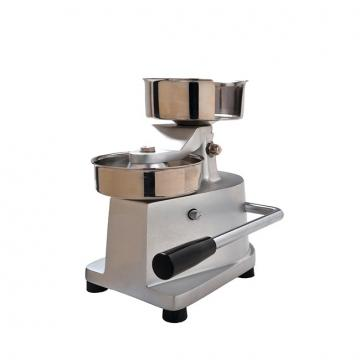 Automatic Square Hamburger Patty Mini Burger Press Maker Machine