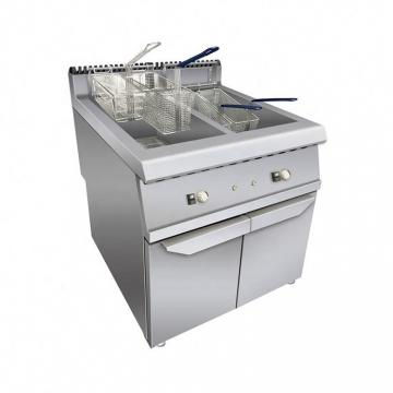 Industrial Continuous Samosa Frying Machine French Fries Fryer