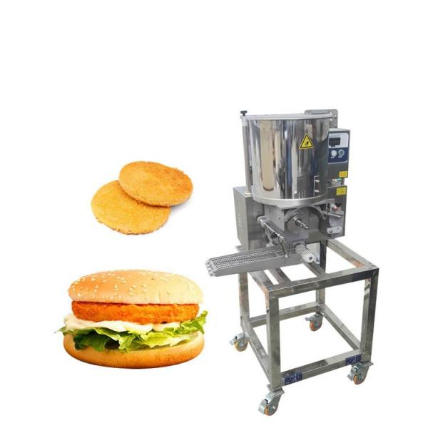 Stainless Steel Metal Stuffed Hamburger Burger Press Molding Machine